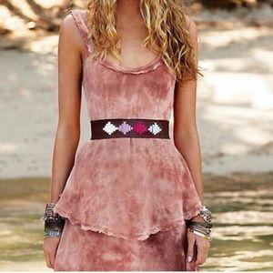 NEW Free People New Romantics tired maxi dress